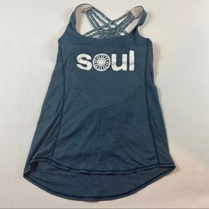 Lululemon SoulCycle Free to be Wild Tank Top Shirt